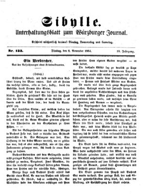 Sibylle (Würzburger Journal) Dienstag 8. November 1864