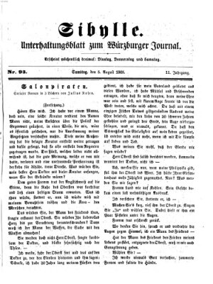 Sibylle (Würzburger Journal) Samstag 5. August 1865