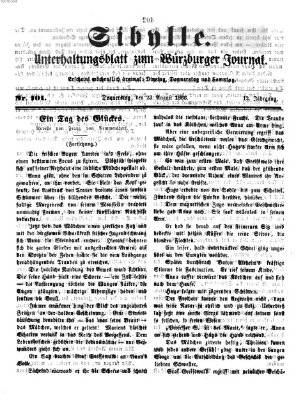 Sibylle (Würzburger Journal) Donnerstag 23. August 1866