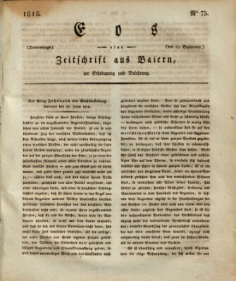 Eos Donnerstag 17. September 1818