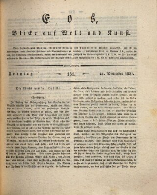 Eos Freitag 21. September 1827