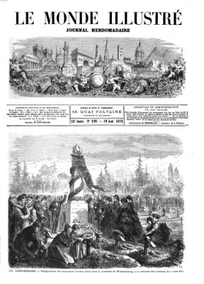 Le monde illustré Samstag 19. August 1871