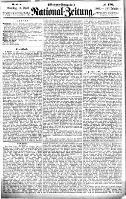 Nationalzeitung Dienstag 17. April 1866