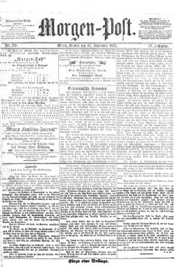 Morgenpost Freitag 21. November 1873