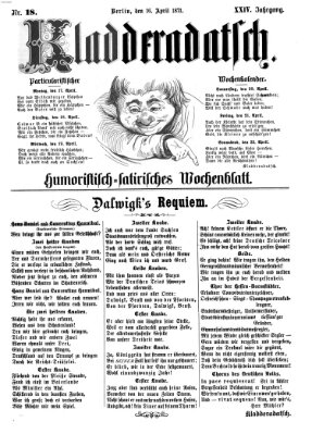Kladderadatsch Sonntag 16. April 1871