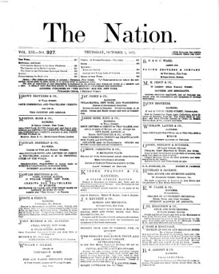 The nation Donnerstag 5. Oktober 1871