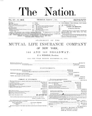 The nation Donnerstag 7. März 1872