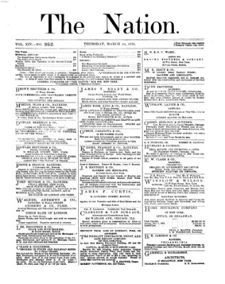 The nation Donnerstag 28. März 1872