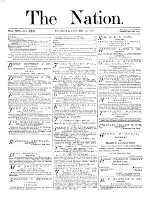 The nation Donnerstag 23. Januar 1873