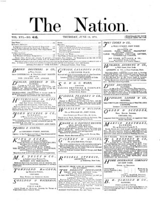 The nation Donnerstag 19. Juni 1873