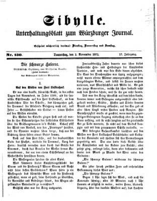 Sibylle (Würzburger Journal) Donnerstag 2. November 1871