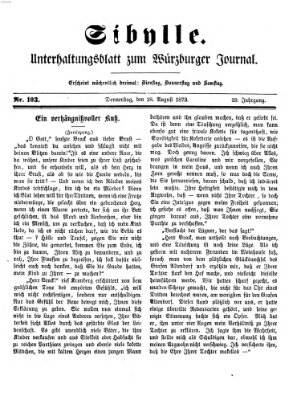 Sibylle (Würzburger Journal) Donnerstag 28. August 1873