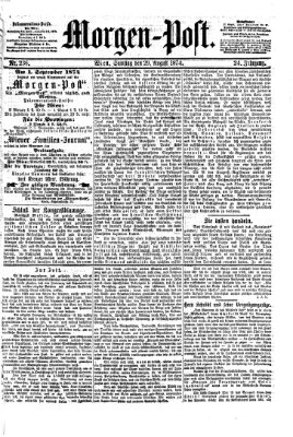 Morgenpost Samstag 29. August 1874