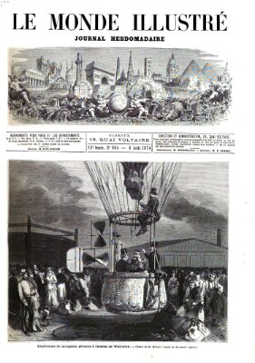 Le monde illustré Samstag 8. August 1874