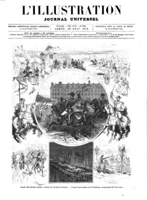 L' illustration Samstag 28. August 1875