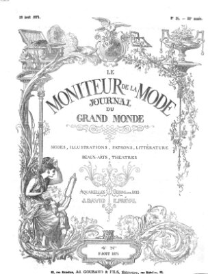 Le Moniteur de la mode Samstag 28. August 1875