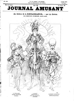Le Journal amusant Samstag 15. Mai 1875