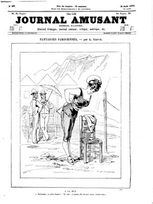 Le Journal amusant Samstag 28. August 1875