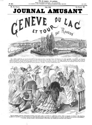 Le Journal amusant Samstag 9. Oktober 1875
