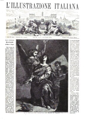 L' Illustrazione italiana Sonntag 21. November 1875