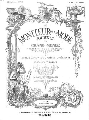 Le Moniteur de la mode Samstag 16. September 1876