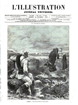 L' illustration Samstag 13. Oktober 1877