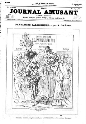 Le Journal amusant Samstag 13. Oktober 1877