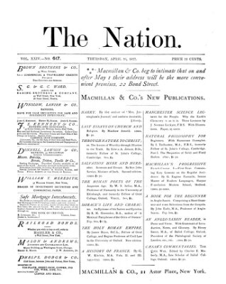 The nation Donnerstag 26. April 1877