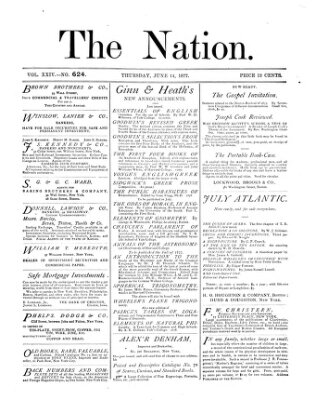 The nation Donnerstag 14. Juni 1877
